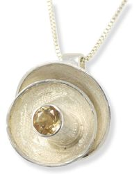 Monica Fiorella Jewelry - Stacked Half-sphere Pendant Necklace - Lyst