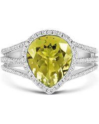 Tivon Fine Jewellery - Tivon Yellow Gelati Ring - Lyst