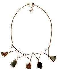 Isla - Piedras Brutas Necklace - Lyst