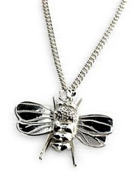 Will Bishop - Sterling Silver Bee Charm - Lyst