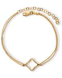 Maviada - Bodrum Vermeil Yellow Gold Bracelet Small - Lyst