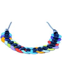 Just Kenzie Jewelry - Tightrope Necklace - Lyst