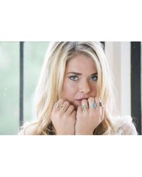 Augustine Jewels - Green Amethyst Cocktail Ring - Lyst