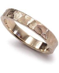 Aimee Sutanto Jewellery - Winter Lake Yellow Gold Ring - Lyst