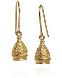 Patience Jewellery - Bell Small Earrings Vm - Lyst