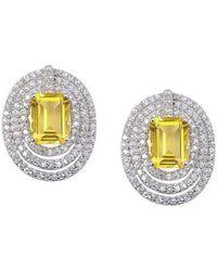 H.Azeem - Stunning Citrine Earrings - Lyst