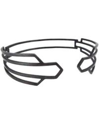Sian Bostwick Jewellery - Nautilus Deco Bangle - Lyst