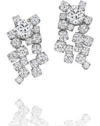 Madstone Design - Melting Ice Diamond Earrings - Lyst