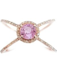 Sarah Ho Numerati Fancy Diamond Lucky Number 1 - UK M - US 6 - EU 52 3/4 fpuoL65op