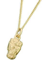 Bridget Wheatley Jewellery - 9kt Gold Little Owl Pendant - Lyst