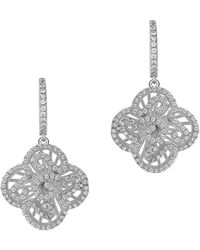 Fei Liu - Cascade Mini Drops In White Rhodium Plate - Lyst