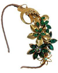 Krausz Jewellery - Green Goddess Headpiece - Lyst
