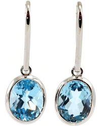 BethCarina - Divine Blue Earrings - Lyst