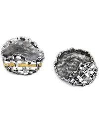 Katarina Cudic - Round Fence Earrings - Lyst