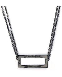 Ongkara - Be Grateful Be Yourself Necklace - Lyst