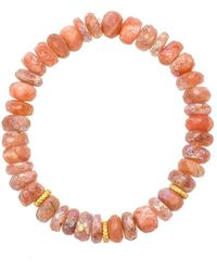 Heather Kenealy Jewelry - Sunstone Bracelet - Lyst