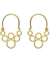 Christina Soubli | Tiny Hoop Earrings | Lyst