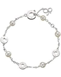 Molly B Couture - Innes Pearl And Signature Bracelet - Lyst