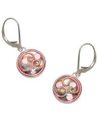 AVA Goldworks - Lily Abalone Earrings - Lyst
