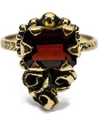 Melissa Anderson Jewellery - 18kt Yellow Gold Harper Ring - Lyst