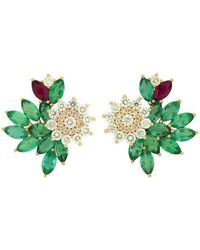 Joana Salazar - Blossom Sparkling Earrings - Lyst
