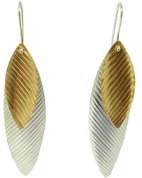 Emma Mogridge Jewellery - Liquid Sun Two-tone Earrings - Lyst