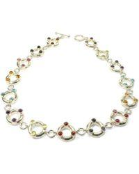 Serena Fox - Aura Sterling Silver Necklace - Lyst