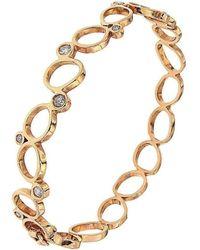 Botta Gioielli - Rigid Rose Bubbles Bracelet - Lyst