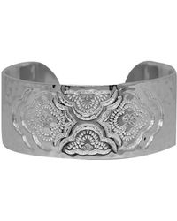 Murkani Jewellery - Sterling Silver Heavenly Cuff Bangle | - Lyst