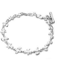 Lucy Quartermaine - Fine Splat Bracelet - Lyst