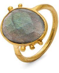 Donatella Balsamo - Amazonia Blue Ring - Lyst