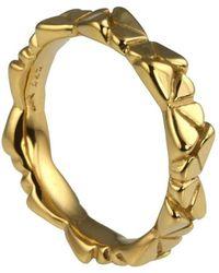 Jana Reinhardt Jewellery - Golden Butterfly Eternity Ring - Lyst