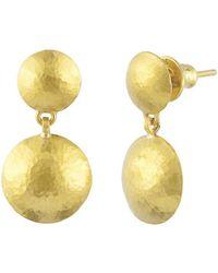 Gurhan - Lentil Double Drop Earrings - Lyst