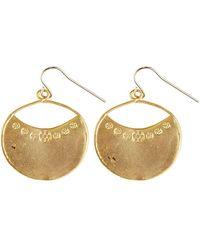 Verve Jewelry - Santa Fe - Simple Drop Earrings - Lyst