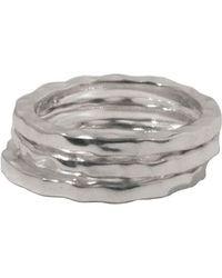 Murkani Jewellery - Gold Free Layering Ring | - Lyst