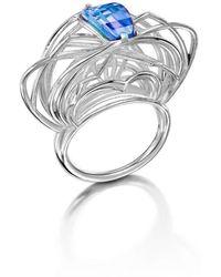 Elaine McKay Jewellery - Ricard Topaz Ring - Lyst