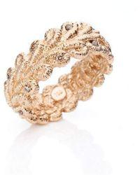 Brigitte Adolph Jewellery Design - Bordure Rose Gold Ring With Diamonds - Lyst