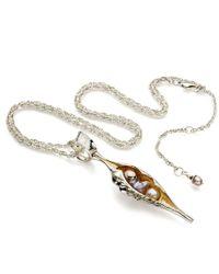 John S Roberts Artist-Jeweller | Large Shell Form Pod Necklace | Lyst