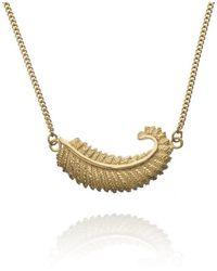 Patience Jewellery - Fern Necklace Vm - Lyst