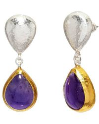 Gurhan - Sterling Silver Galapagos Earrings - Lyst