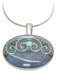 AVA Goldworks - Morning Glory Opal Pendant - Lyst