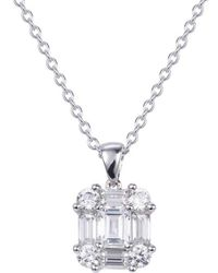 Lustre of London - Diana Pendant - Lyst