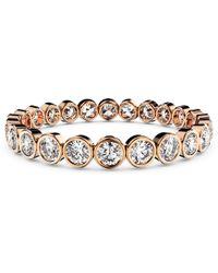 MARCELLO RICCIO - Rose Gold & Diamond Eternity Ring - Lyst