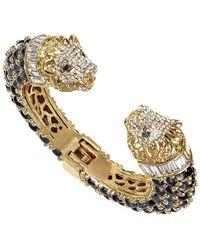 BuDhaGirl - Gold Lion Cuff Bracelet | - Lyst