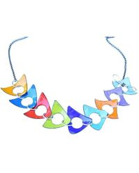 Just Kenzie Jewelry - Grand Stand Necklace - Lyst