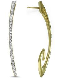 REALM - Sceptre Linea Signature Blanc Exclamation Earring - Lyst
