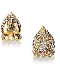 BuDhaGirl - Golden Lotus End Friendship Caps | - Lyst