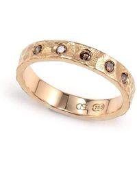 Aimee Sutanto Jewellery - Winter Lake Cognag Night Ring - Lyst