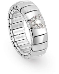 Nomination - Xte Ring Zirconia Horseshoe - Lyst