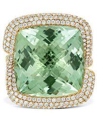 Tivon Fine Jewellery - Tivon Cape Town Green Ring - Lyst